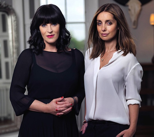 Anna Richardson and Louise RedKnapp, presenting How Not To Get Old, Channel 4