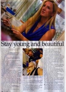 Dr Helen Robertshaw in Dorset Society Magazine
